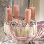 DIY-Idee halbachblog: Adentkranz ganz Ladylike