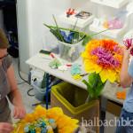 halbachblog: Deko im Halbach-Ausstellungshaus mit der Sommerkollektion 2016