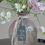 halbachblog: Feminine Sommer-Vase mit Kordel
