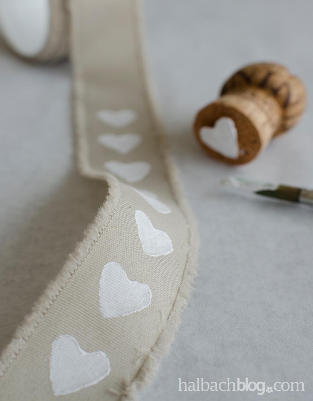 DIY: Textildruck auf Bändern