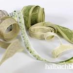 Insights halbachblog: Eine Auswahl gewebter Jacquard-Bänder von Halbach - Qualität Made in Germany