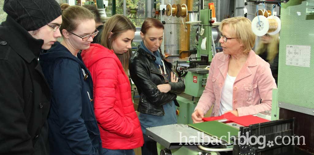 Zu Besuch bei Halbach
