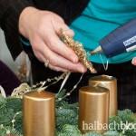 halbachblog I Kreativer Adventskranz-Workshop bei Halbach