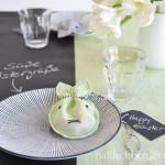 DIY-Idee halbachblog: Kleines Stoff-Hasen-Säckchen für Schokoeier und Co. nähen als Ostergeschenk