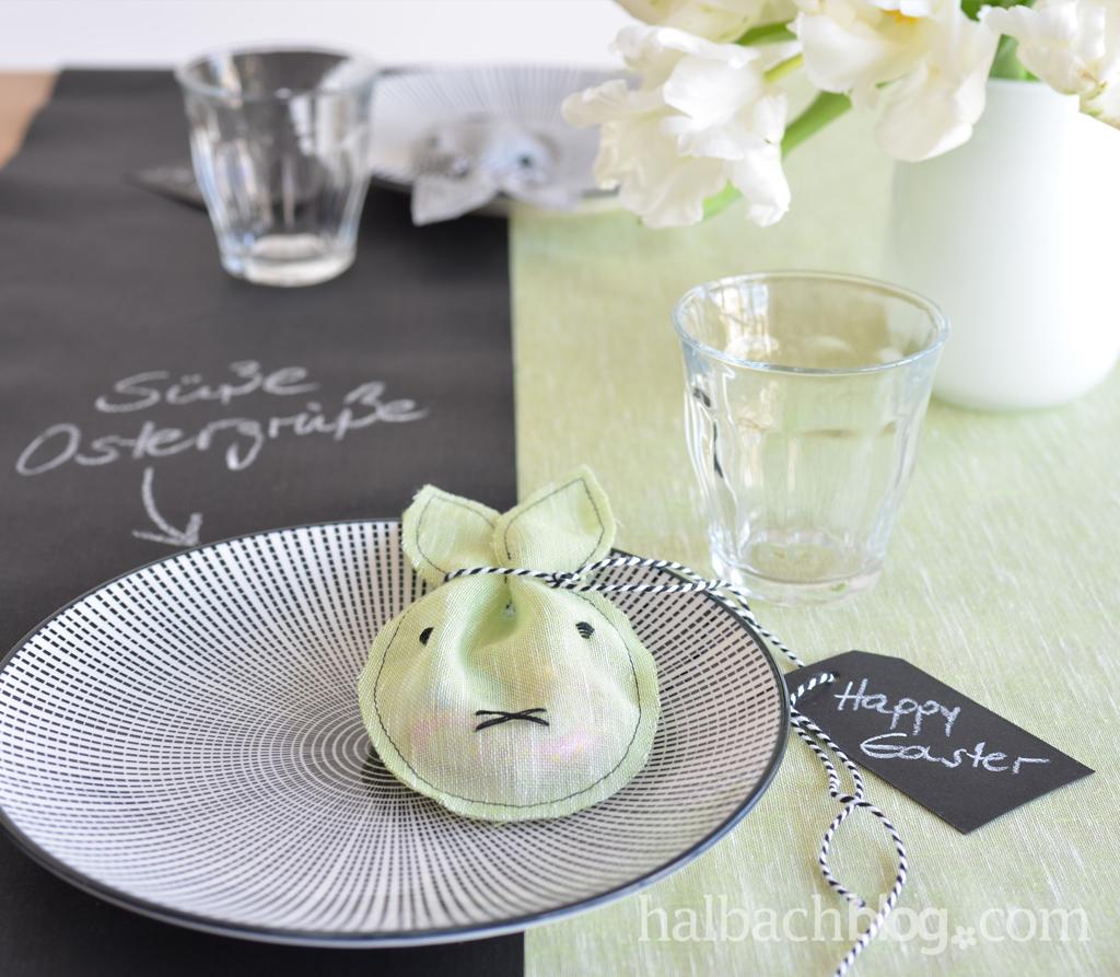 Ostergeschenk: Süßes Hasen-Säckchen