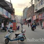 halbachblog: Halbach Seidenbänder - Impressionen von der Chinareise im Frühling 2016, typisches Straßenbild