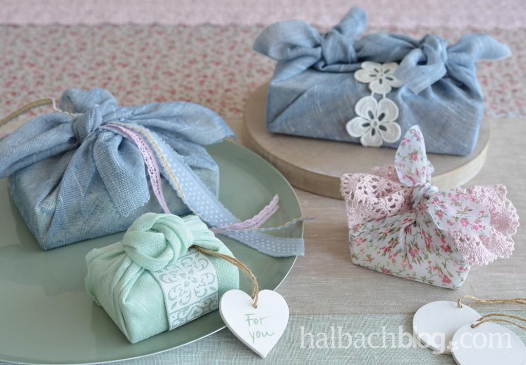 Furoshiki-Style: Geschenke verpacken mit Stoff