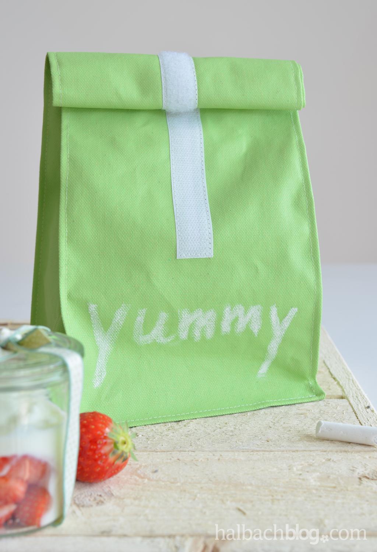 Tafelstoff to go: Lunchbag nähen