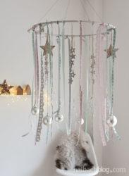 Pastell-Liebe: Hängende Adventsdeko
