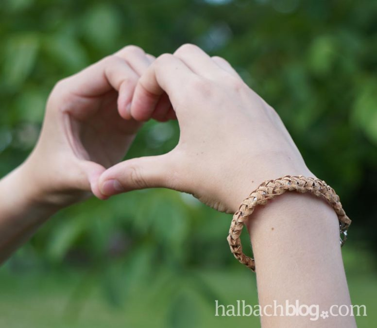 Armband im Natural-Look