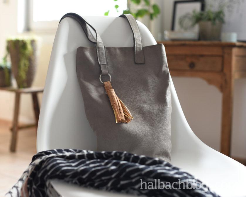 Bag Charm: Korkstoff Quaste