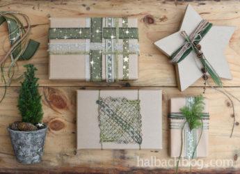 Schön geschnürt: Geschenke verpacken mit Bändern