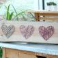 Muttertagsgeschenk: Fadenbild mit Herz