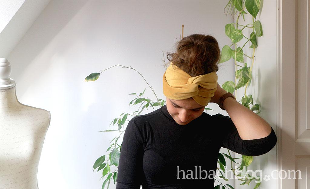 Im Trend: Samt-Stirnband nähen