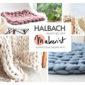 XXL-Armstricken mit Halbach-Strickschlauch
