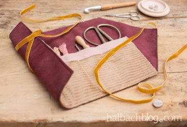 Sew it yourself: Rollmäppchen für DIY-Material