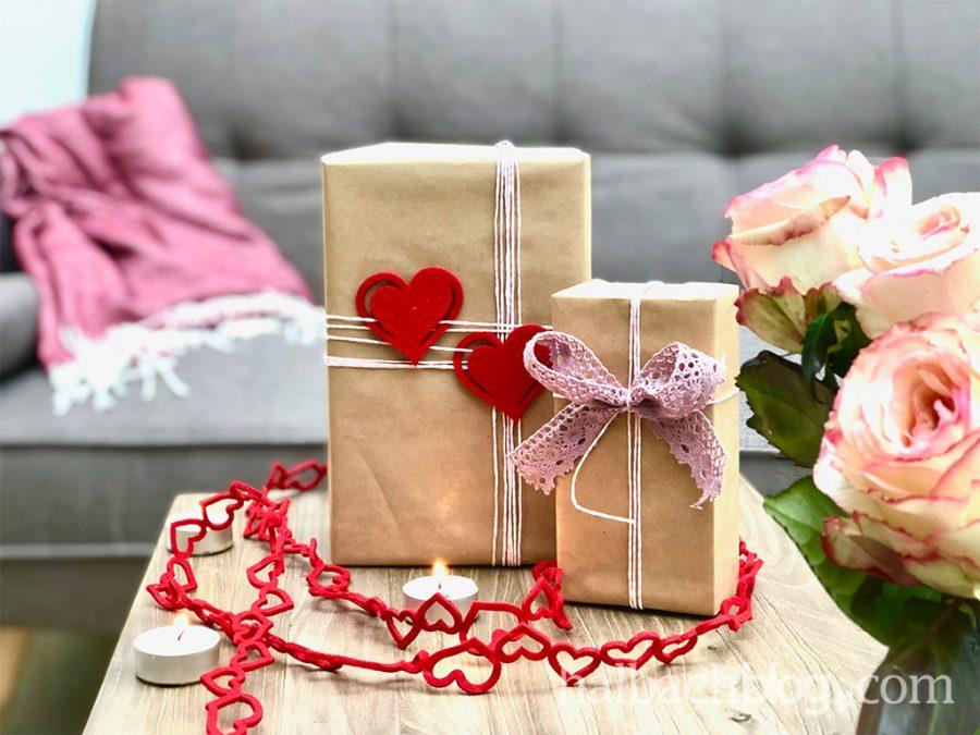 Verpackungsideen mit Herz