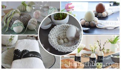 Mit ♥ selbst gemacht: Dekoideen zu Ostern