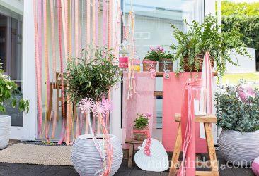 Farbenfroh: schnelle Gartendekoideen