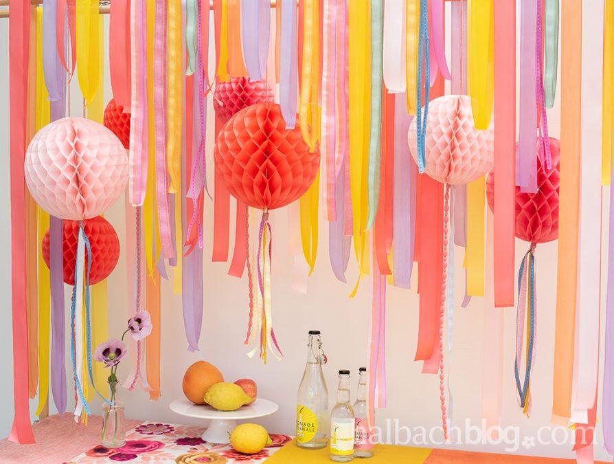 Colour Play: Sommerbunte (Party-) Deko