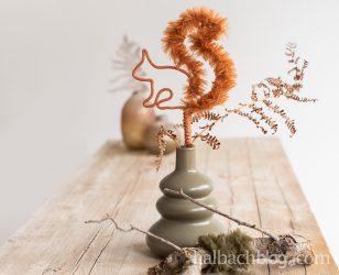 So flauschig: Eichhörnchen mit Fellschnur