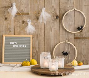 Happy Halloween: DIY-Ideen aus Tüll