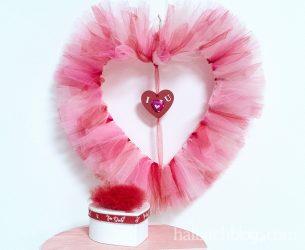 Be my valentine: Herzige Ideen mit Tüll