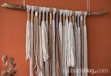 Natural Style: Kordel-Wall-Hanging